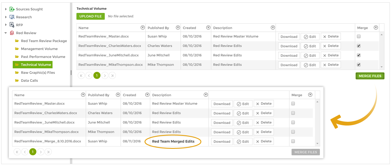 Use Capture2's Merge Documents Feature To Increase Efficiency in the Proposal Process.