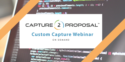 Custom Capture for Capture2Proposal
