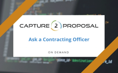 Ask a Contracting Officer – Watch Now!