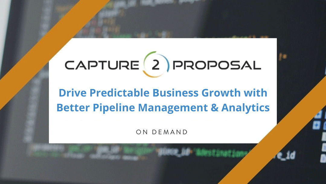 Drive Predictable Business Growth with Better Pipeline Management & Analytics