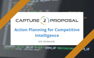 Action Planning for Competitive Intelligence